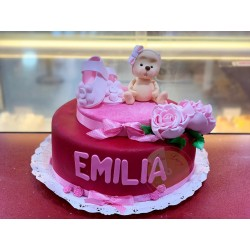 Torta baby shower o bautizo